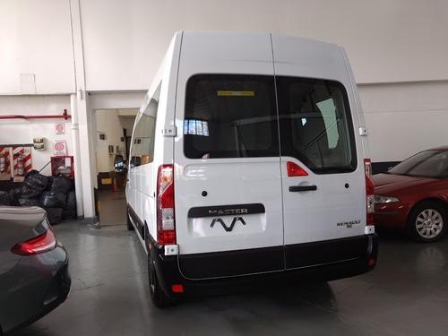 renault master 2.3 minibus 15+1 entrega inmediata!! (jav)