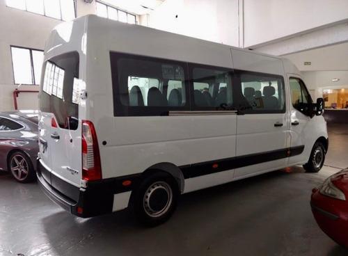 renault master 2.3 t4 dci 130 minibus patentada 2020 (ap)