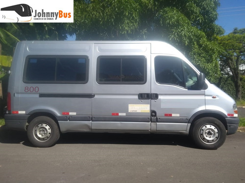 renault master 2.5 dci l2h2 16l - ano 2005/06 - johnnybus
