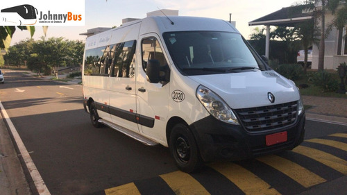 renault master 2.5 dci l3h2 - ano 2013/14 - johnnybus