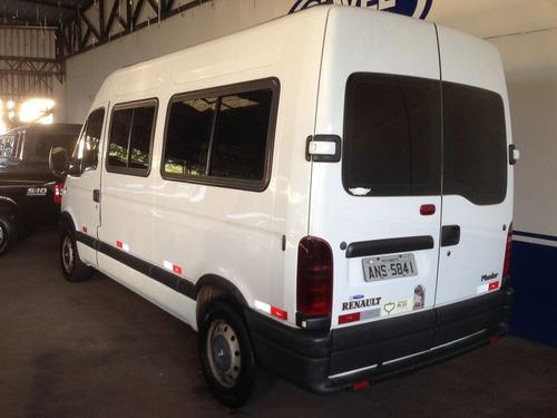 renault master 2.5 dci minibus l2h2 16 lugares 16v diesel