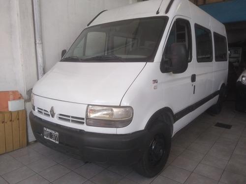 renault master 2.5 ph3 dci120 pklux minibus 2009