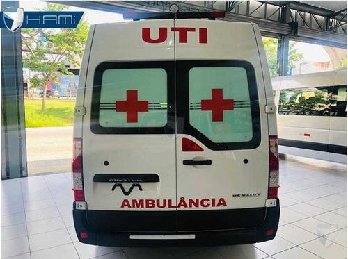 renault master ambulancia uti l2h2 branco 2020