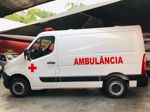 renault master ambulância 2.3 l1h1