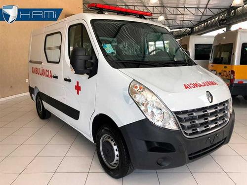 renault master ambulância simples remoção l1h1 branc