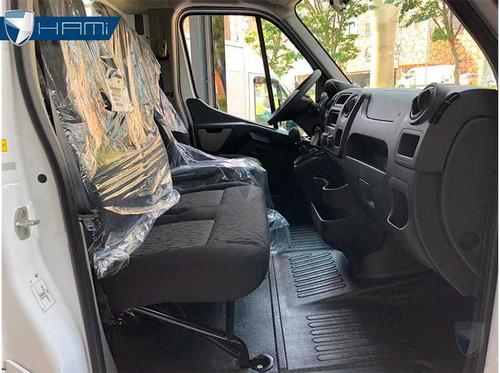 renault master chassi cabine l2h1 branco 2020