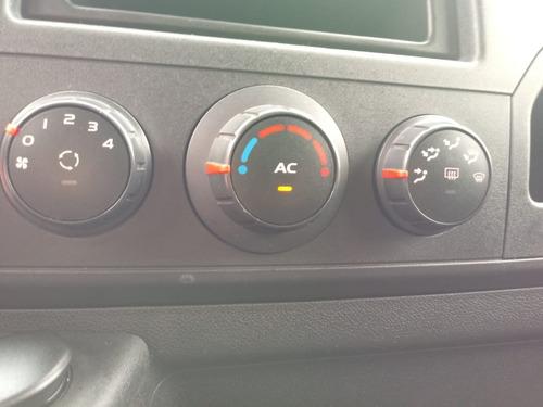 renault master furgão 2015 com ar condicionado completa
