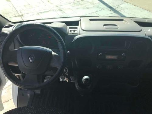renault master furgon corto l1h1 2014 98km full linea nueva!