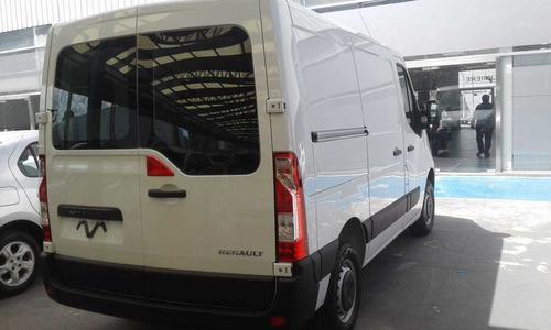 renault master l1 h1 furgon corto 0km anticipo y cuotas