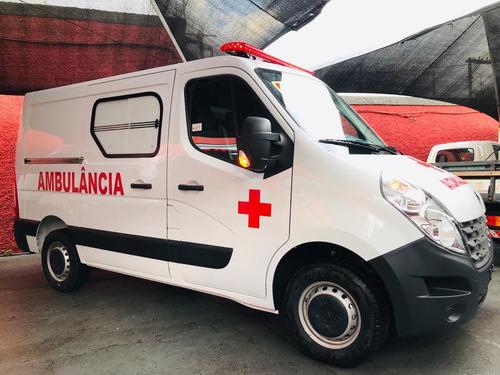 renault master l1h1 ambulância simples remoção