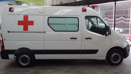 renault master l2h2 0km 17/18 ambulância  uti
