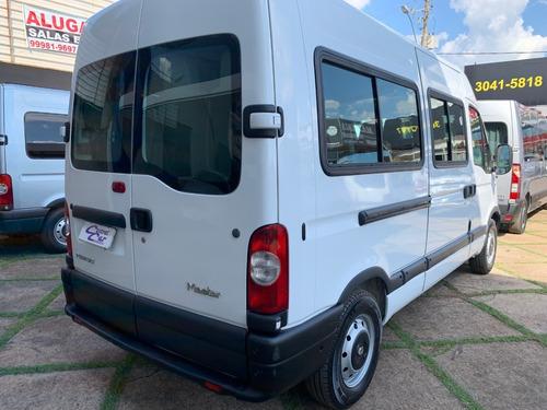 renault master l2h2 2.5 completa 16 passageiros 2011