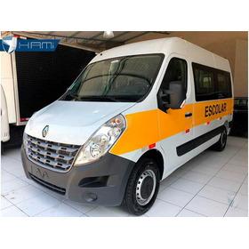 Renault Master L2h2 Esc 20 Lugares Branco