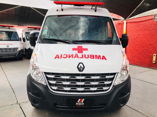 renault master l3h2 ambulancia uti