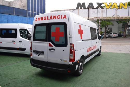 renault master master ambulancia l2h2 simples remoção