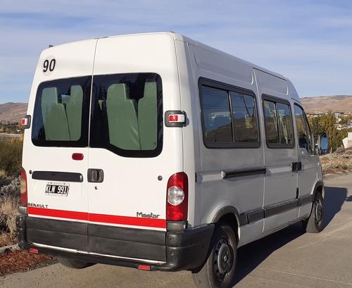 renault master minibus 15+1