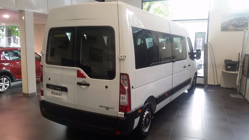 renault master minibus 2.3 entrega inmediato!!!! (sz)