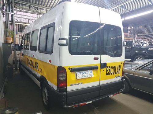 renault master minibus 2.5 dci 19l 2010 completa