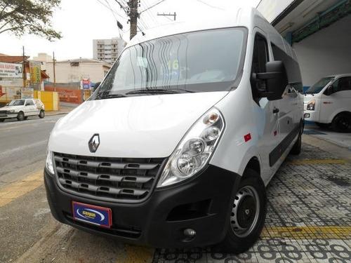 renault master minibus vip l3h2 16 lugares 2.3 dci, pwk2568
