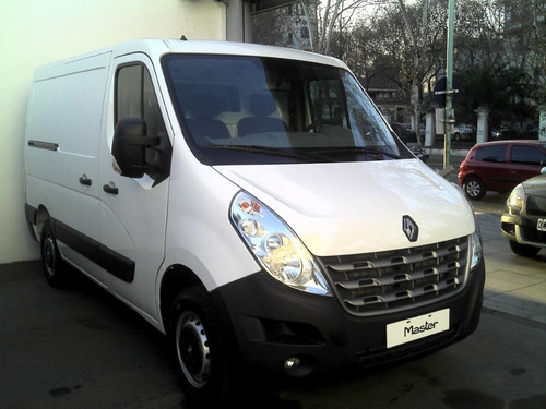 renault master td 0 km  2018 anticipo $250000 y cts gm