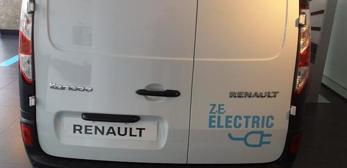 renault maxi kangoo ze  100 % electrica