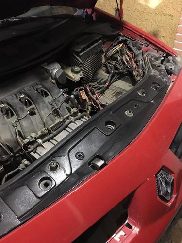 renault megan 2.0 modelo 2005 automático rojo en partes