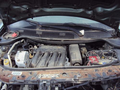 renault megane 1.6 16v flex ano 2007 sucata p/ retirar peças