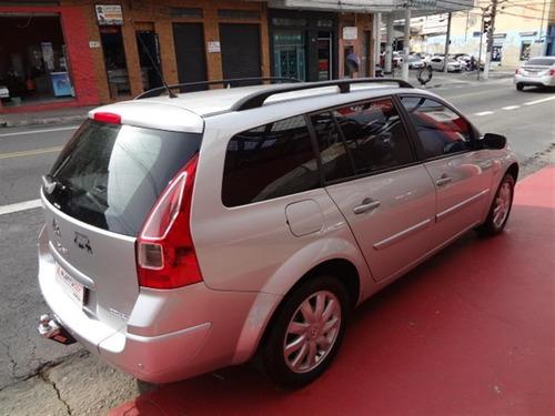 renault mégane 1.6 dynamique grand tour  flex 4p manu 2011