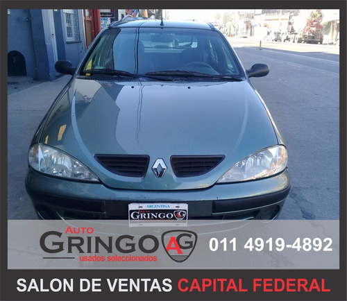 renault mégane 1.6l pack plus excelente estado!! imperdible!