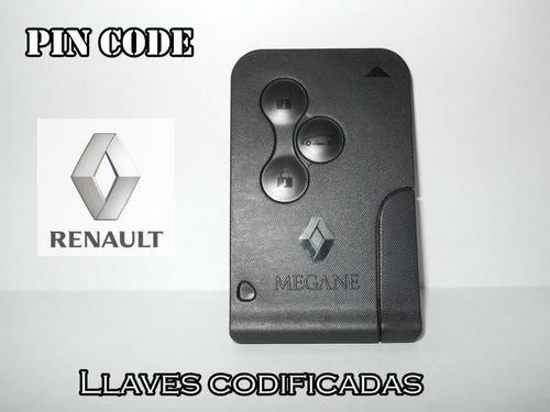renault megane 2 tarjeta llave