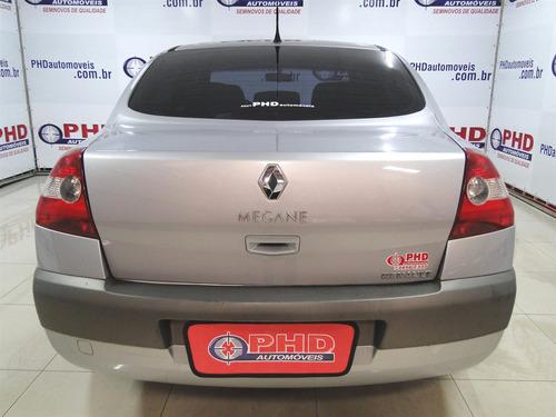 renault mégane 2.0 dynamique sedan 16v gasolina 4p manual