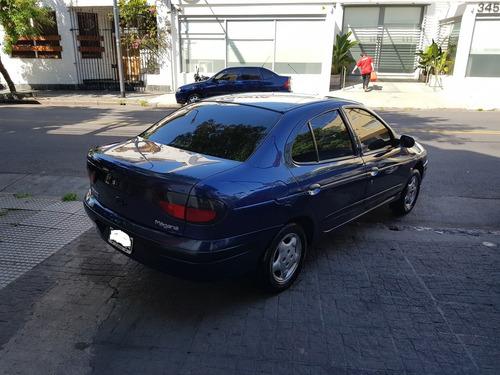 renault megane rt dt tric  4 ptas turbo nuevo full azul 1998