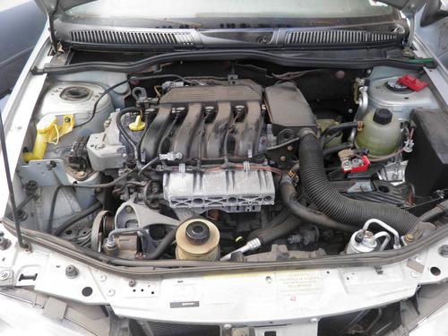 renault megane rxe 2.0 16v 2005 sucata p/ peças motor cambio