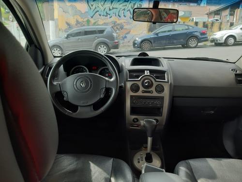 renault megane sedan dynamique automático 2.0 2008 81.000 km