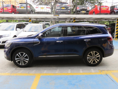 renault new koleos 4x4 2017 aut azul