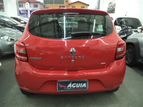 renault sandero 1.0 16v authentique hi-flex 2016 completo!