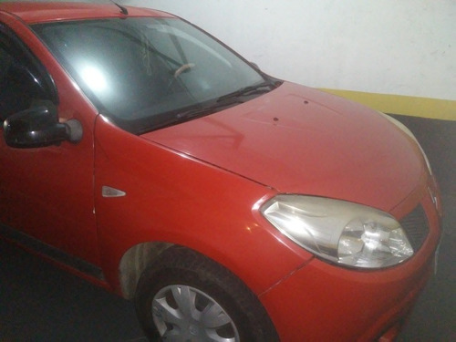 renault sandero 1.0 16v authentique hi-flex 5p 2010