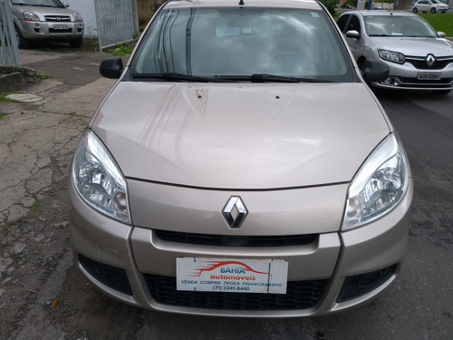 renault sandero 1.0 16v authentique hi-flex 5p 2012