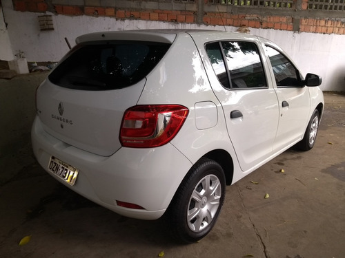 renault sandero 1.0 16v authentique hi-flex 5p 2015