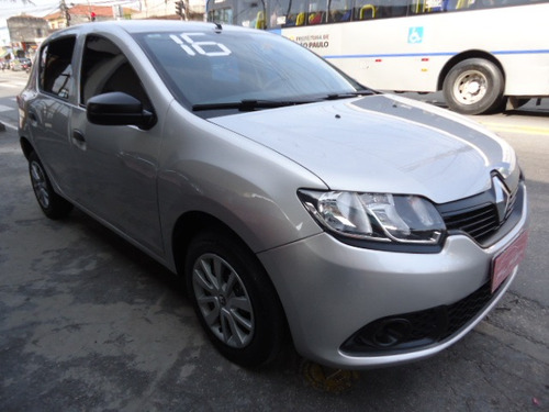 renault sandero 1.0 16v authentique hi-flex 5p