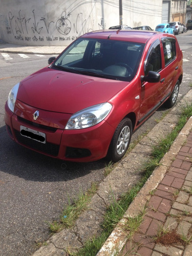 renault sandero 1.0 16v authentique hi-flex 5p completo