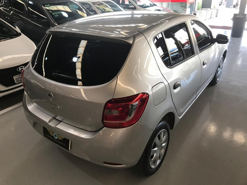 renault sandero 1.0 authentique 16v flex 4p manual