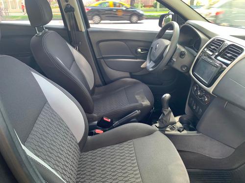 renault sandero 1.6 16v negro 4 puertas dynamique
