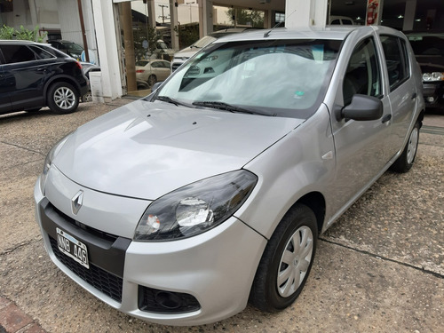 renault sandero 1.6 expression abs gnc 2014 77mkm