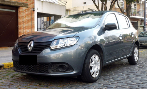 renault sandero 1.6 expression pack / impecable - permuto //