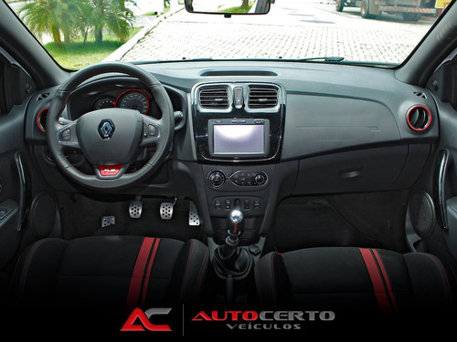 renault sandero 2.0 16v hi-flex rs manual