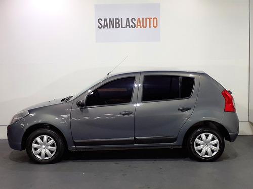 renault sandero 2008 confort 1.6 n aa ab cd 5p san blas auto
