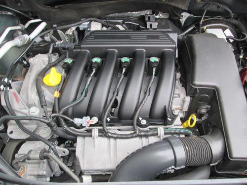 renault sandero 4 cilindros, 2017 gris