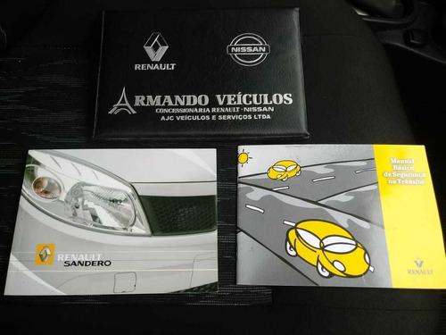 renault sandero authenthic 1.0  flex 2013