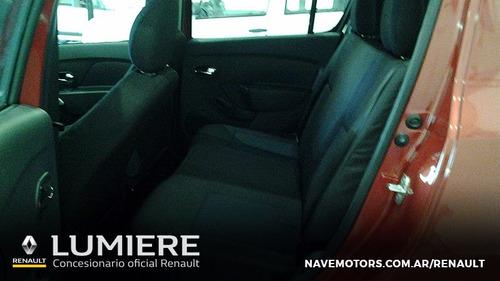 renault sandero dynamique full 1.6 rojo 4 puertas 0km